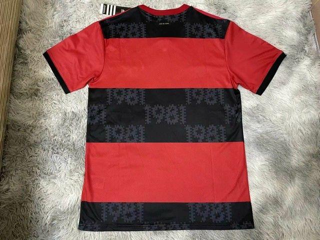 Camisa Flamengo Oficial Temporada 2021/2022  1.1 - Foto 2
