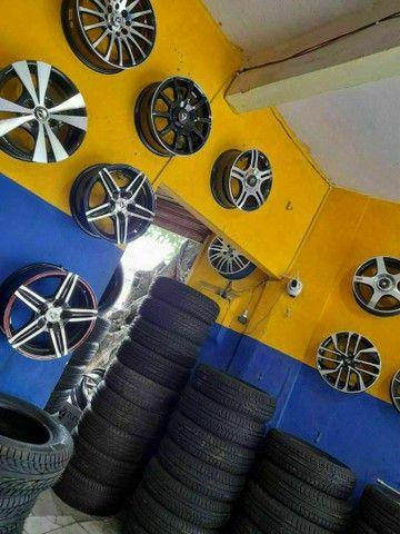 Pneus ligue Adriano pneus afogados tem  - Foto 3