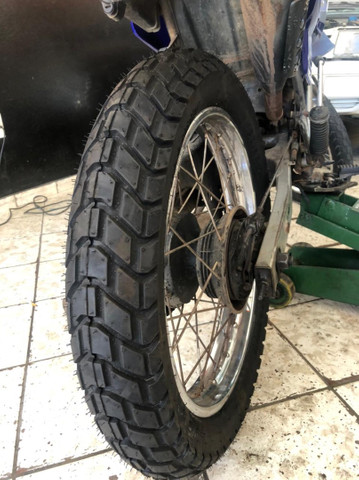 Pneus originais para motos - Bros/ XRE300/ Falcon/ Similares - Foto 3