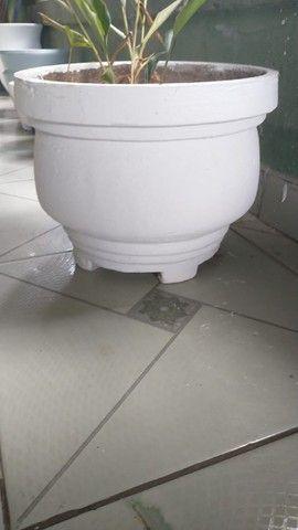 Vasos de cimento artesanal  - Foto 3