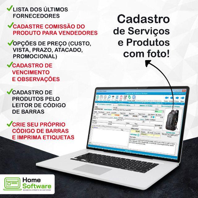 Sistema PDV Frente de Caixa, Financeiro, Entradas, Despesas, Completo - RP - Foto 4