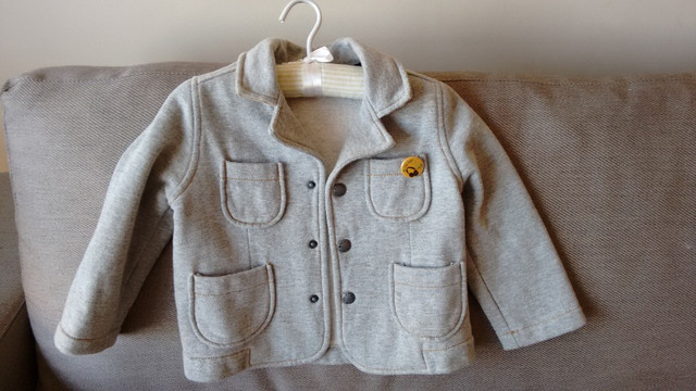 Casaco/blazer infantil super estiloso