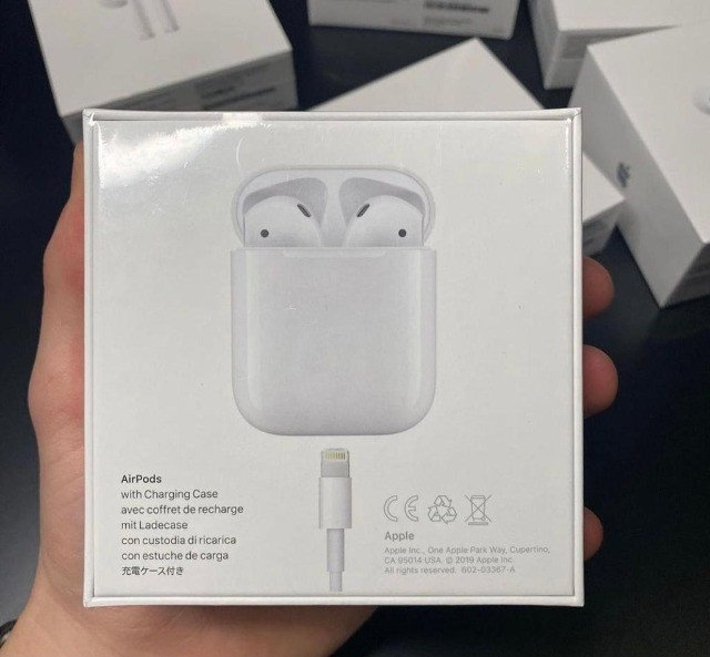 Fone Bluetooth Apple - AirPods 2 MV7N2AM / A com Chip H1 - Branco - Foto 3