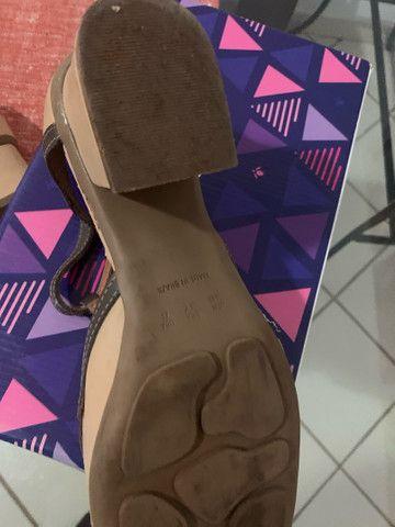 Maravilhoso sapato da linha conforto zambeze número 37 - Foto 3