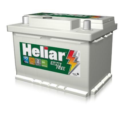 Bateria automotiva Heliar 60 ahp - disk entrega gratis