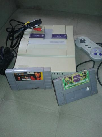 Super Nintendo fat bom estado