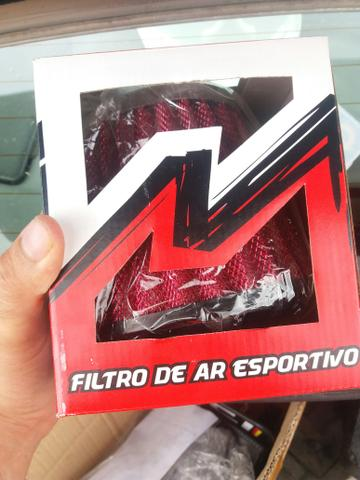Kit filtro de ar esportivo new civic 1.8 16v 2007 a 2011