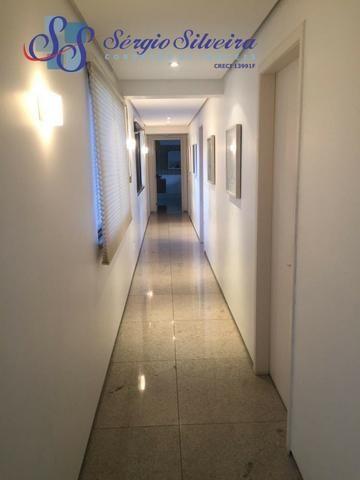 Apartamento no Meireles com vista mar e área de lazer 4 suítes na Joaquim Nabuco - Foto 8