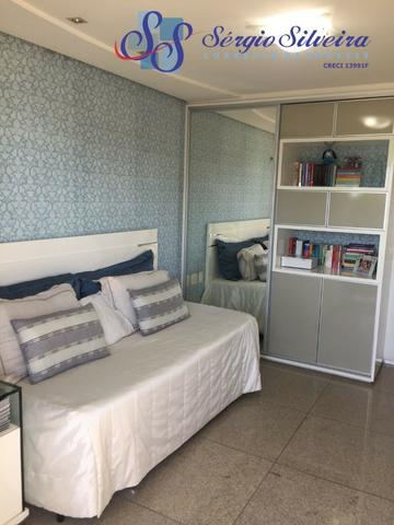 Apartamento no Meireles com vista mar e área de lazer 4 suítes na Joaquim Nabuco - Foto 18