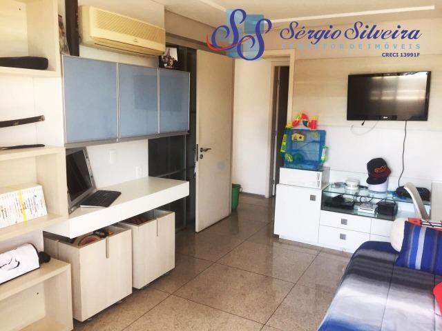 Apartamento no Meireles com vista mar e área de lazer 4 suítes na Joaquim Nabuco - Foto 13