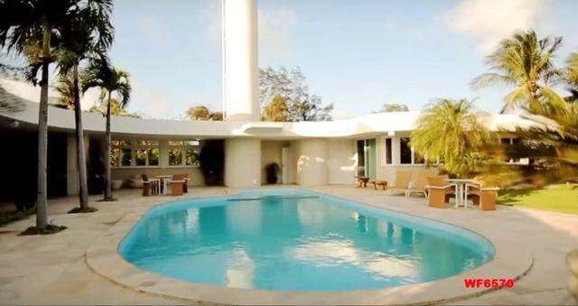 Mansão em Fortaleza, casa duplex nas Dunas, 4 suítes, gabinete, bairro de Lourdes - Foto 5