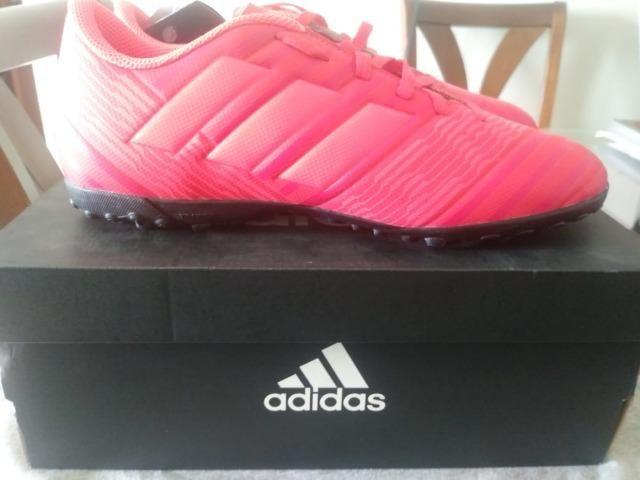 1989042ac9 Chuteira Society Adidas Nemeziz Tango 17.4 tamanho 38 - Roupas e ...