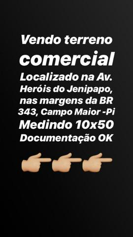 Terreno Comercial na BR 343, Campo Maior