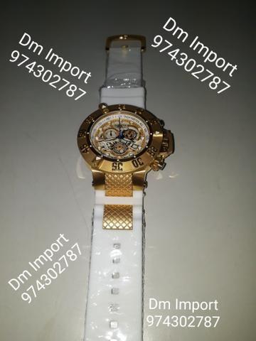167eb2f3d36 Relógio curren emborrachado - Bijouterias