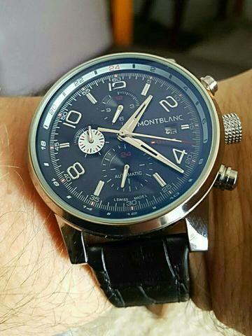 940c7dcdcc5 Relógio Mont Blanc Rolex - Bijouterias