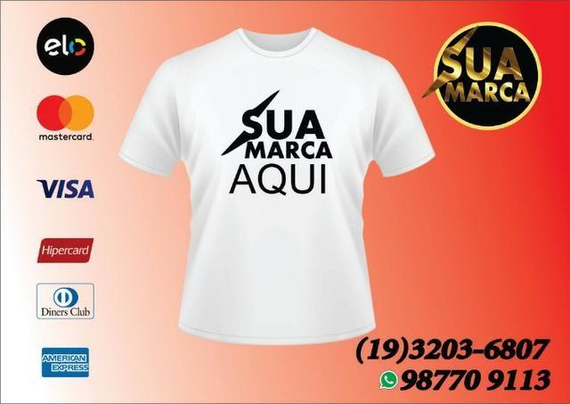 Camiseta Personalizada com Sua Marca - Roupas e calçados - Vila ... 98b1fe3450785