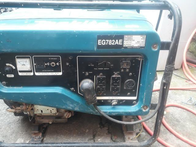 2c547668730 Gerador De Energia A Gasolina Makita Eg782ae 7