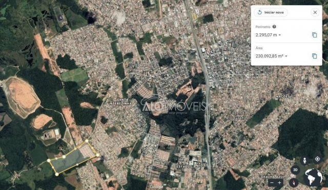 Terreno à venda, 1252 m² por R$ 275.569,00 - Estados - Fazenda Rio Grande/PR - Foto 2