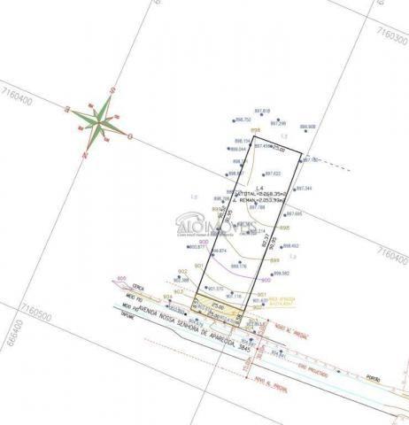 Terreno à venda, 3875 m² por r$ 412.725 - estados - fazenda rio grande/pr - Foto 3