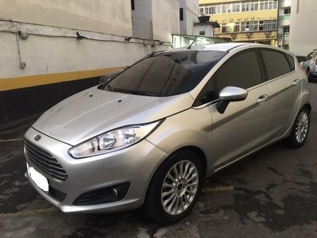 New Fiesta hatch Titanium automático com gnv 5 geração preço real - Foto 2