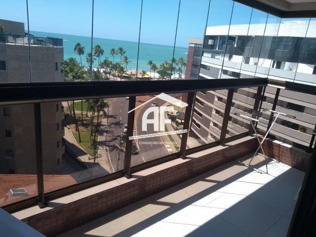 Apartamento com vista para o mar na Jatiúca - Totalmente nascente