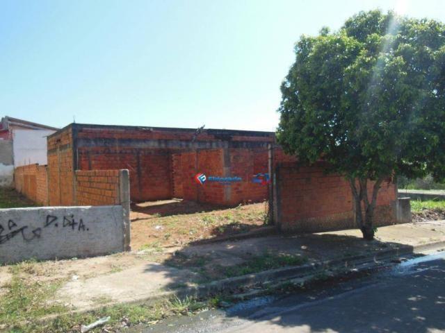 Casa à venda, 120 m² por r$ 250.000,00 - jardim terras de santo antônio - hortolândia/sp