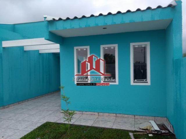Casa à venda com 3 dormitórios em Gralha azul, Fazenda rio grande cod:CA00046 - Foto 2