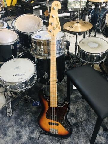 Baixo 4 Cordas Jazz Bass Series Sjb75 Sx Sunburst