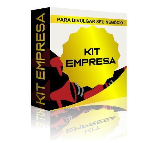 Kit Empresa Site + Panfletos + Cartão De Visita + Banner + Logo + Arte