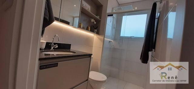Apartamento com suíte em Hortolandia, varanda, elevador. - Foto 7
