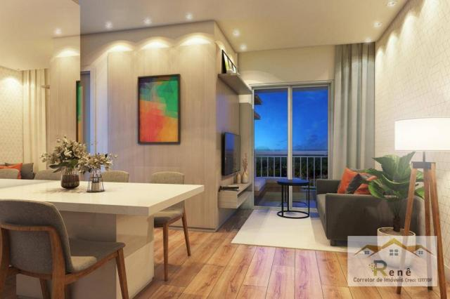 Apartamento com suíte em Hortolandia, varanda, elevador. - Foto 13