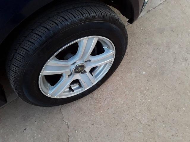 Fiesta sedan 1.6 Azul raridade * - Foto 4