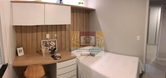 Apartamento para venda com 3 quartos e lazer completo no Guararapes - Foto 14