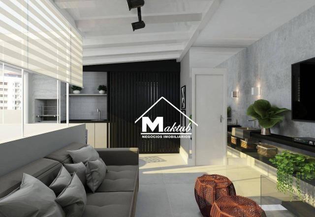 Cobertura com 2 dormitórios à venda, 88 m² por R$ 430.000,00 - Jardim - Santo André/SP - Foto 3
