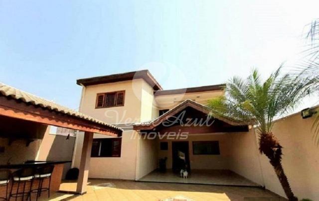 Casa à venda com 4 dormitórios em Jardim dona regina, Santa bárbara d'oeste cod:CA007648