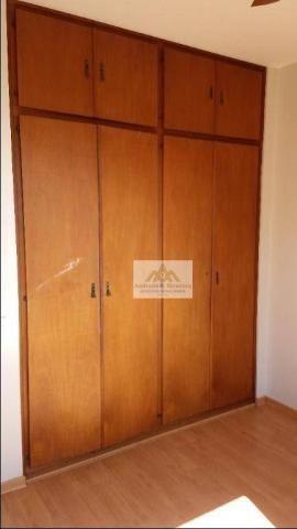 Apartamento com 2 dormitórios para alugar, 75 m² por R$ 1.050/mês - Centro - Ribeirão Pret - Foto 8