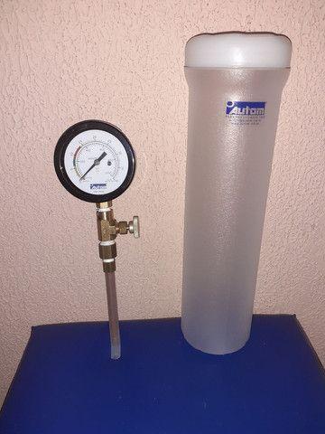 Manômetro de pressão para gás