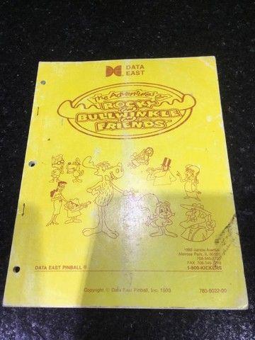 Pinball rocky bullwinckle friends manual