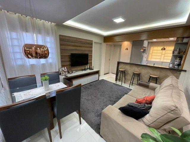 Lindo Apartamento Residencial Tulipas Todo Reformado e Mobiliado - Foto 2