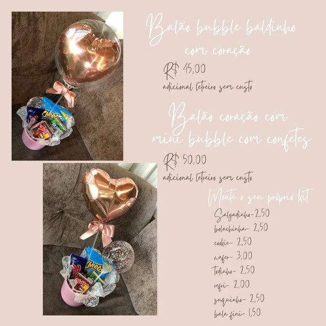 Balão bubble  - Foto 3