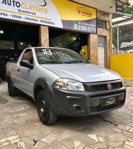 Fiat Strada Working CS 1.4 Completa // Entrada + Prestações R$ 797,45 - Foto 2
