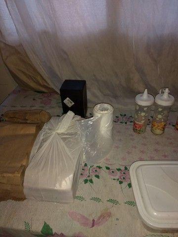 Vendo carrinho de hot dog com acessórios - Foto 5