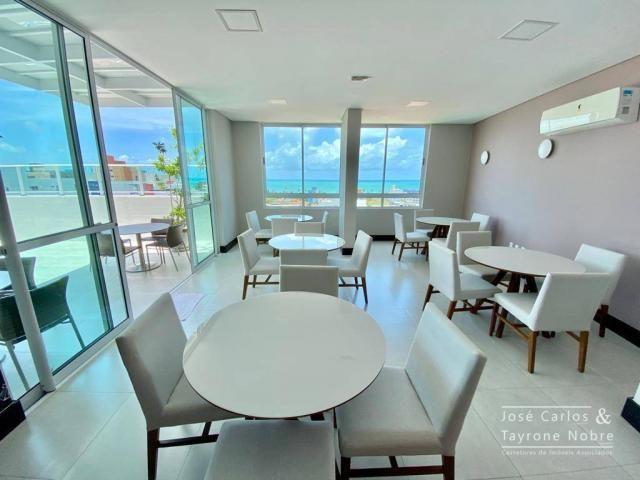 Apartamento de 1 quarto com vista para o mar - Manaira - Foto 4