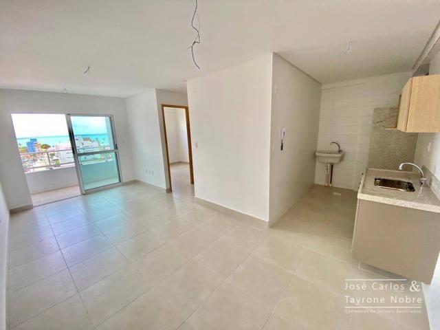 Apartamento de 1 quarto com vista para o mar - Manaira - Foto 11