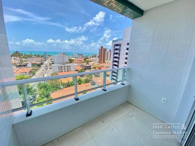Apartamento de 1 quarto com vista para o mar - Manaira - Foto 12