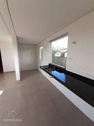 Cobertura com 2 dormitórios à venda, 119 m² por R$ 523.360,95 - Salgado Filho - Belo Horiz - Foto 9