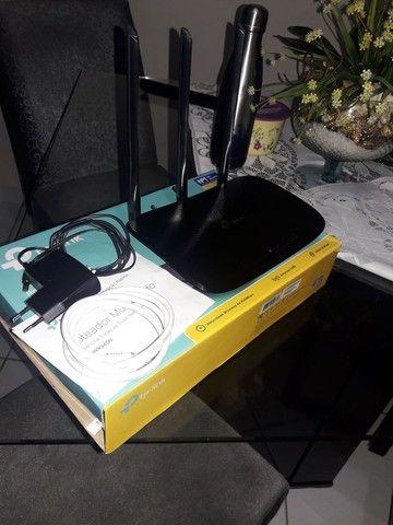Roteador Tplink TL WR940N Wireless N450Mbps
