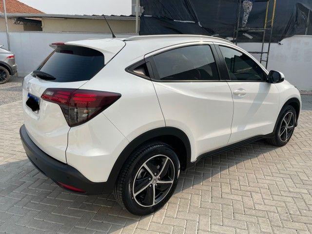 VENDO Honda HR-V EXL 2019 com 28mil Km Branco Perola  - Foto 4