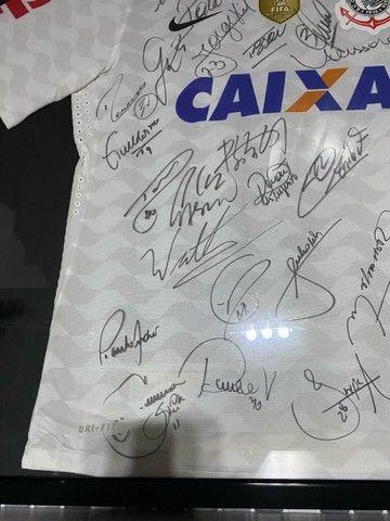 Camisa Autografada Corinthians  - Foto 3