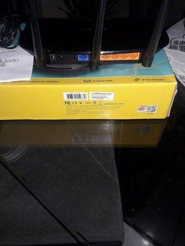 Roteador Tplink TL WR940N Wireless N450Mbps - Foto 3
